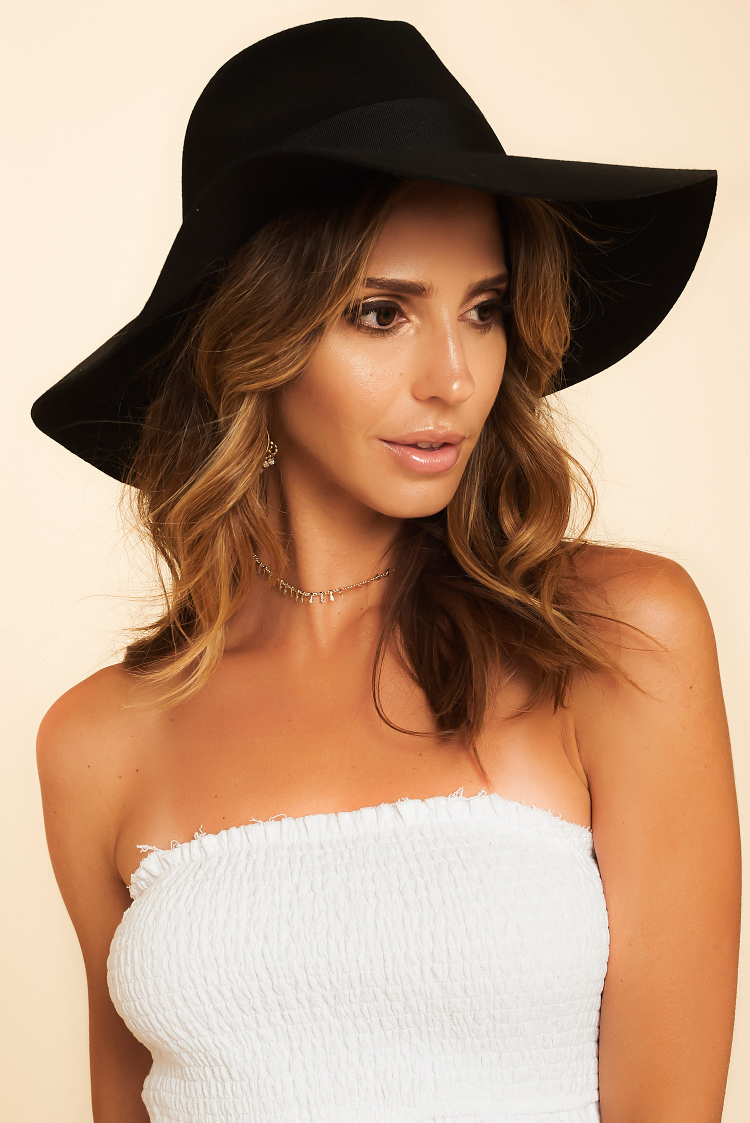 Brixton  Piper Hat in Black - BitterSweet Boutique ce7f8339602