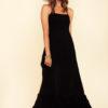 Nights in Paradise Dress in Black