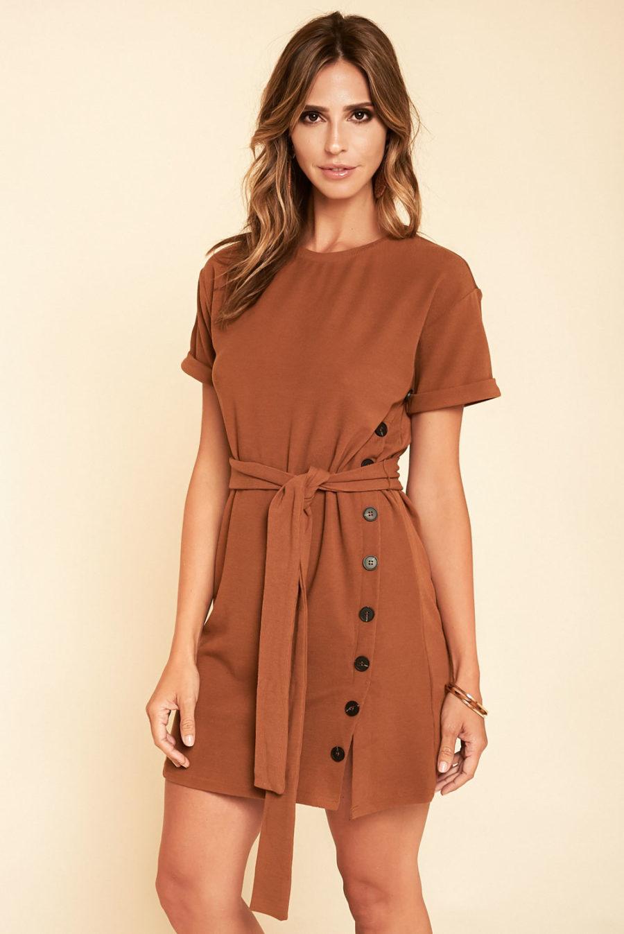 Sideshow Mini Dress