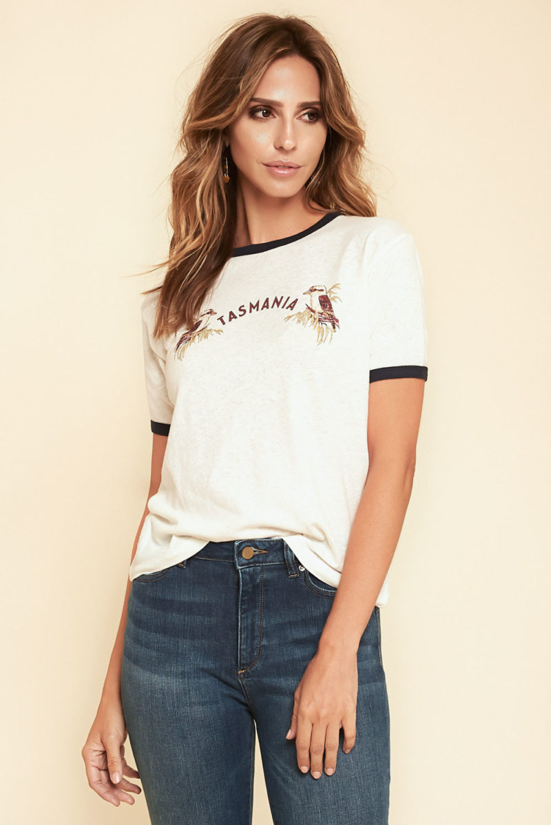 Auguste the Label: Tasmania Ringer Tee