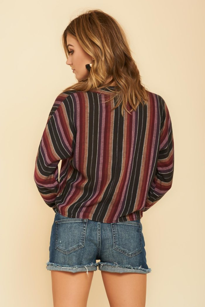 Rails: Sloane Top in Bravas Stripe