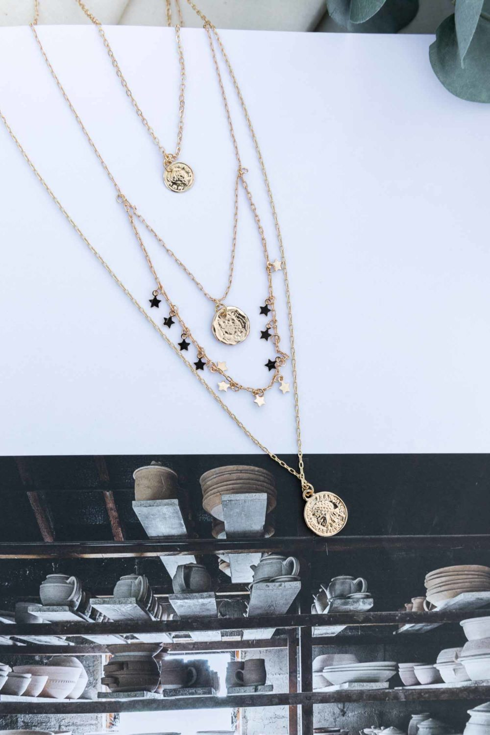 Star Spangled Layered Necklace