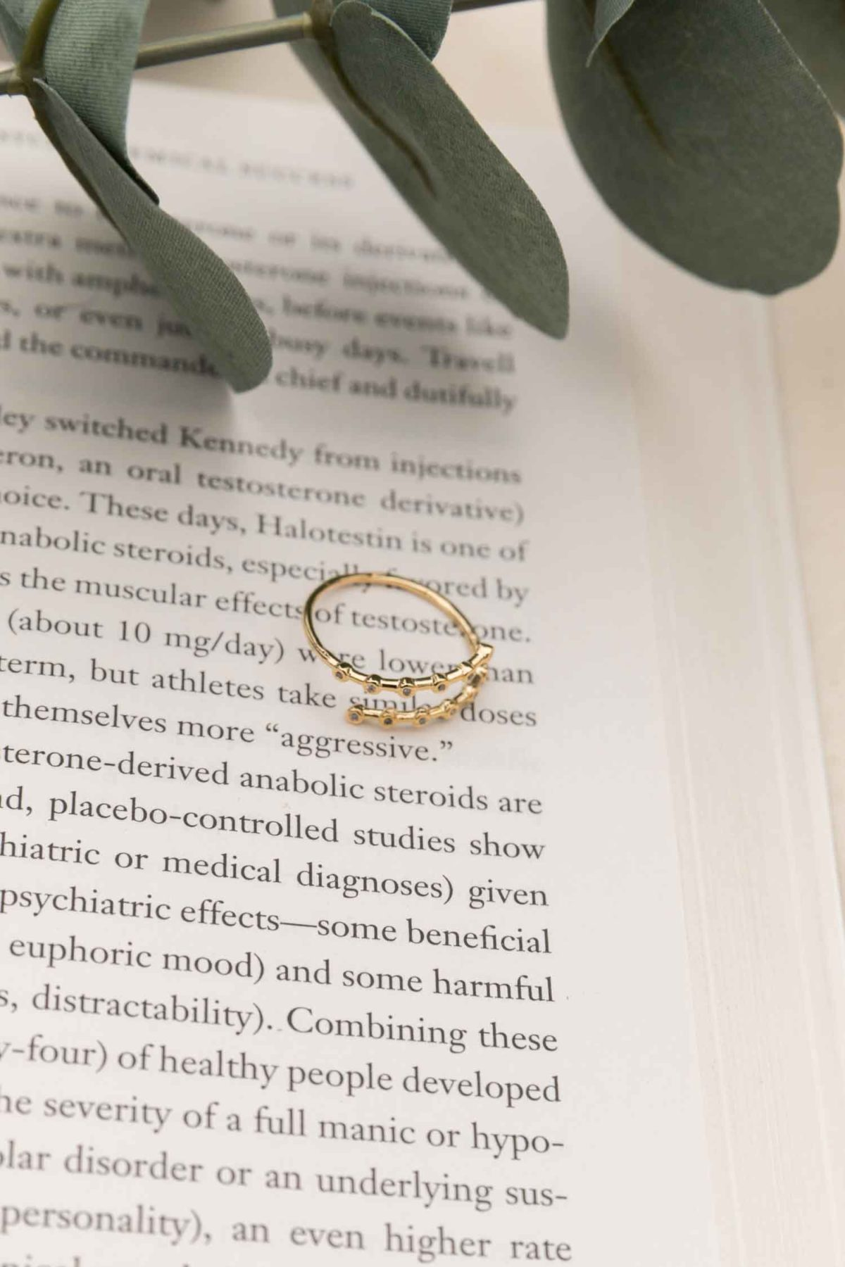 Jewels in Montecito Ring in Gold