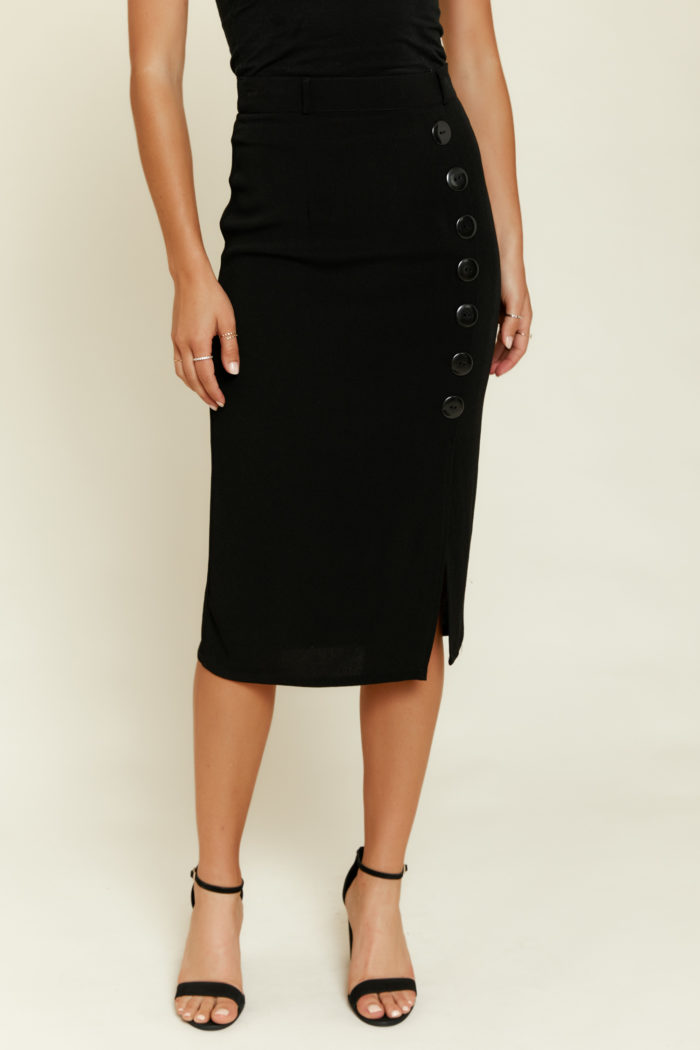 Flynn Skye: Vivian Skirt in Black