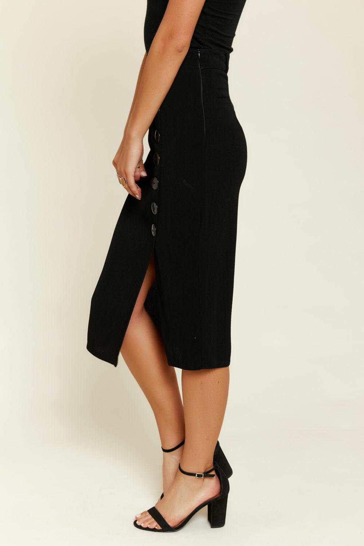 Flynn Skye: Vivian Skirt in Black