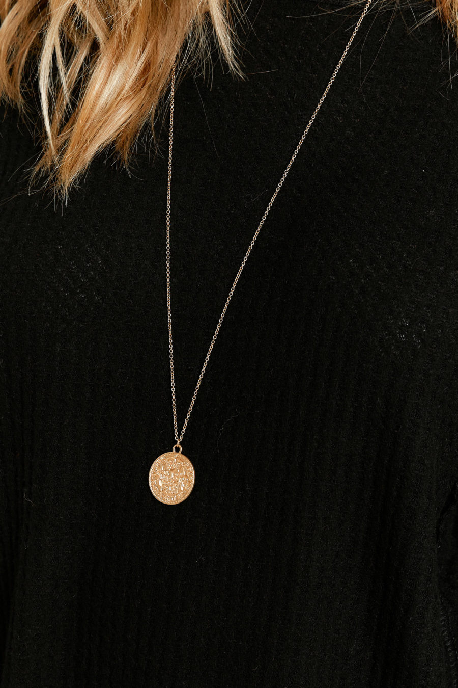Boy With a Coin Necklace