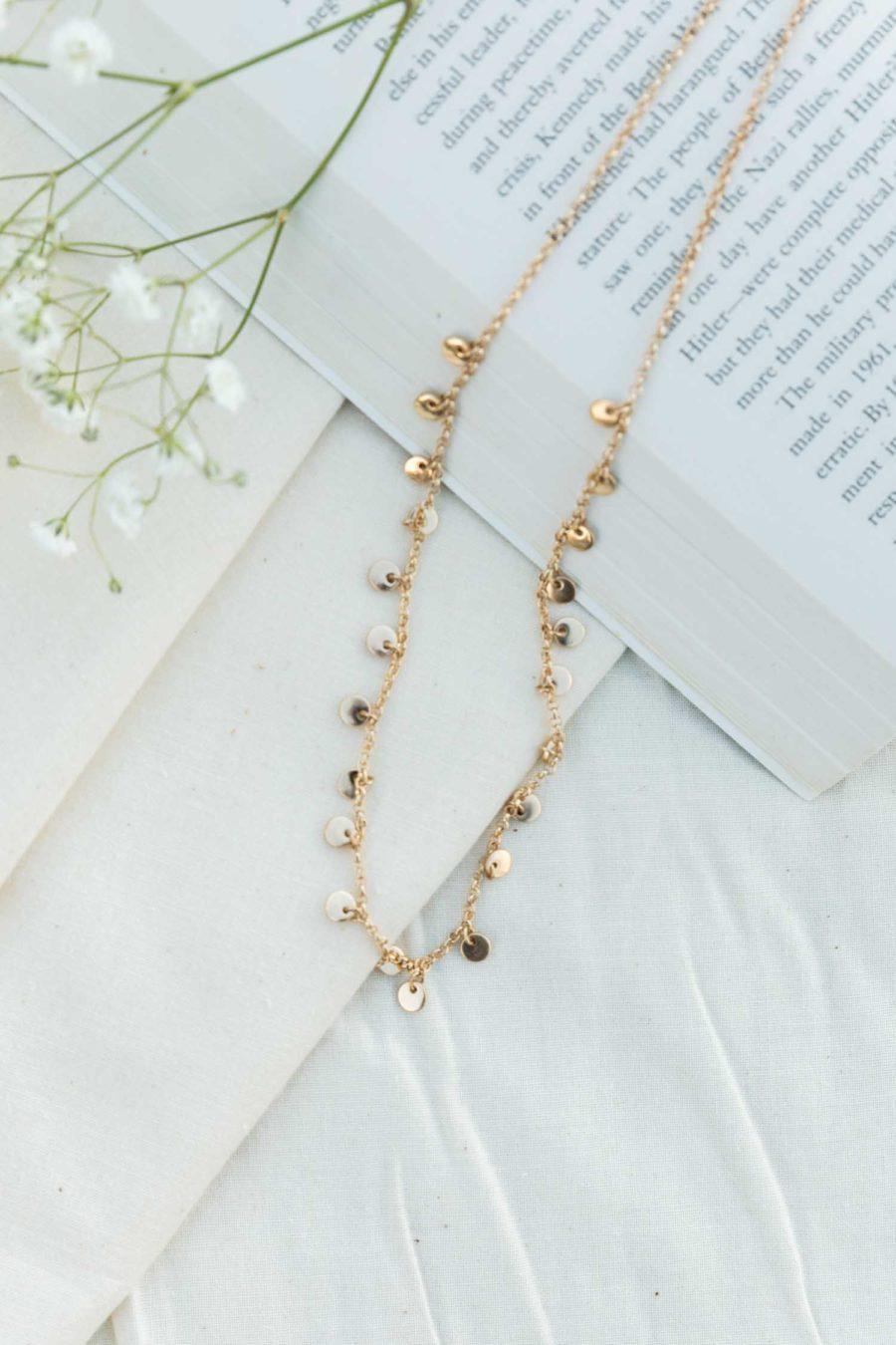 Mediterranean Sands Choker Necklace