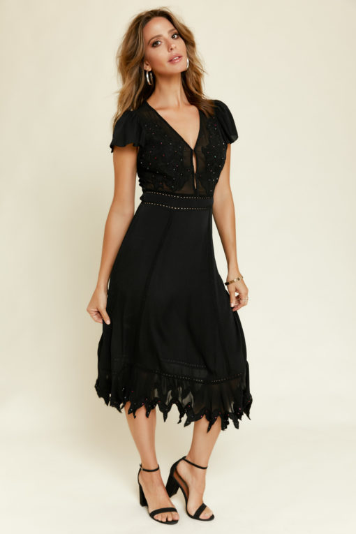 Cleobella: Emerson Dress in Black