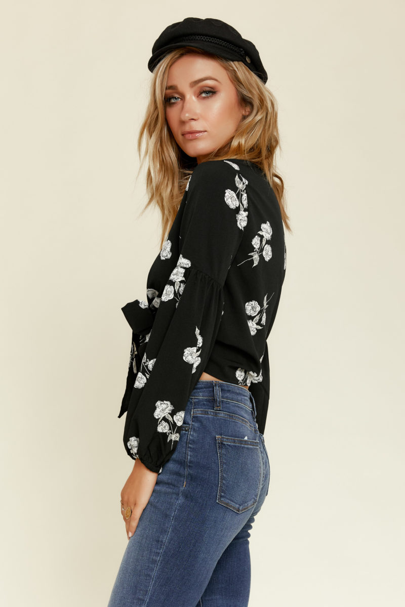 Amuse Society: Lady Charmer Woven Top