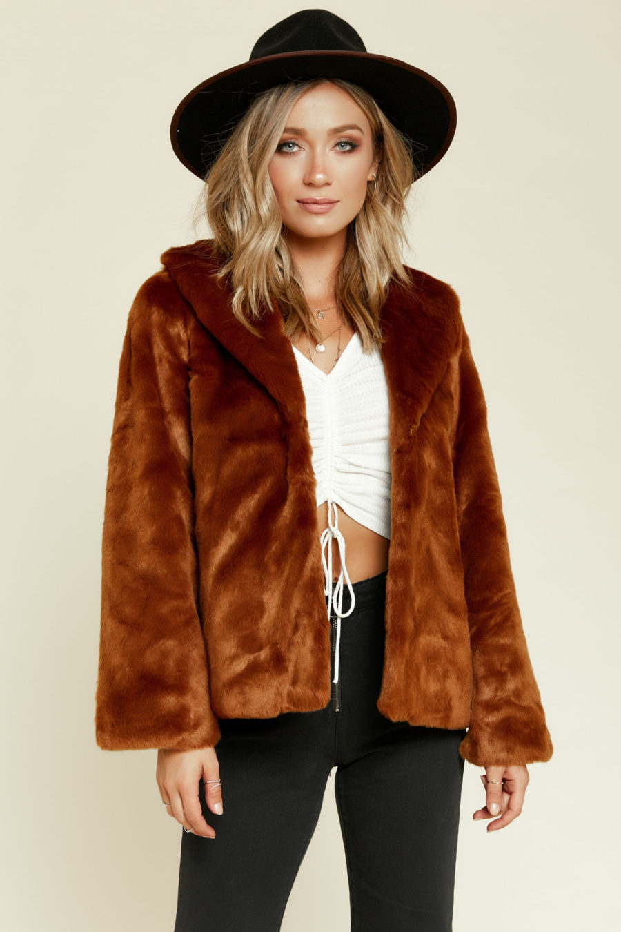 Amuse Society: Fur Ever Mine Jacket