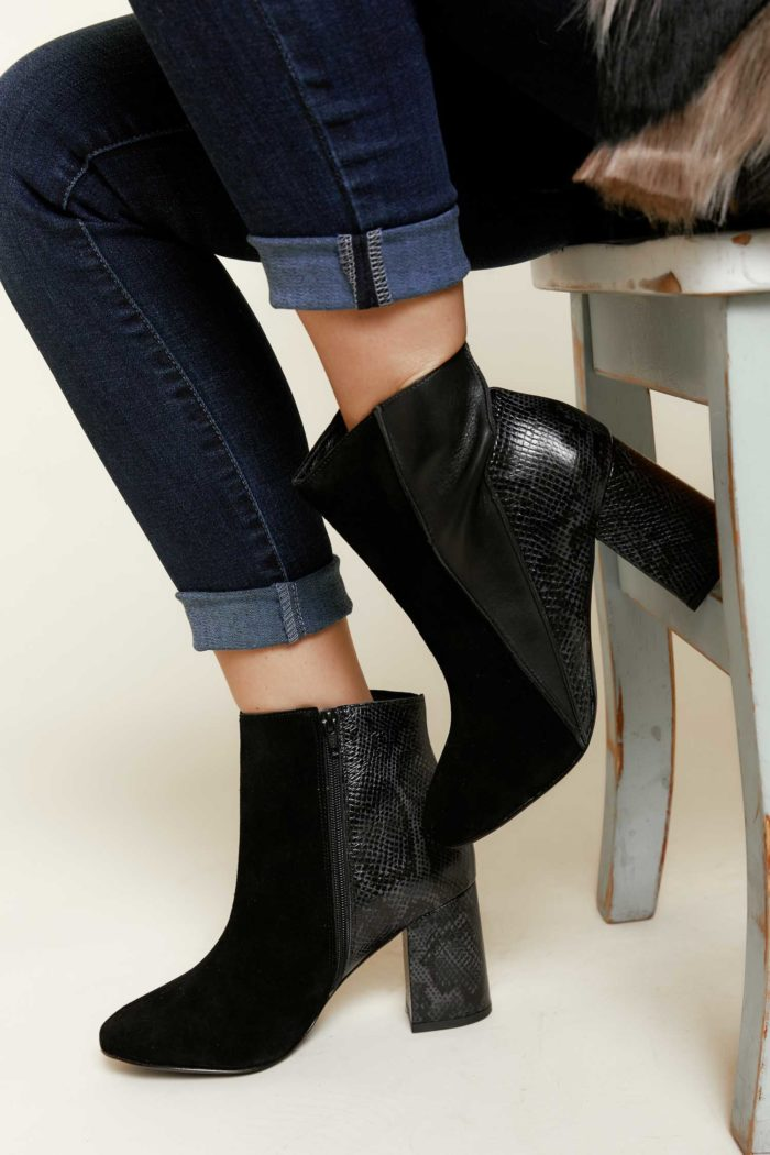 Matisse: Birdie Boot in Black