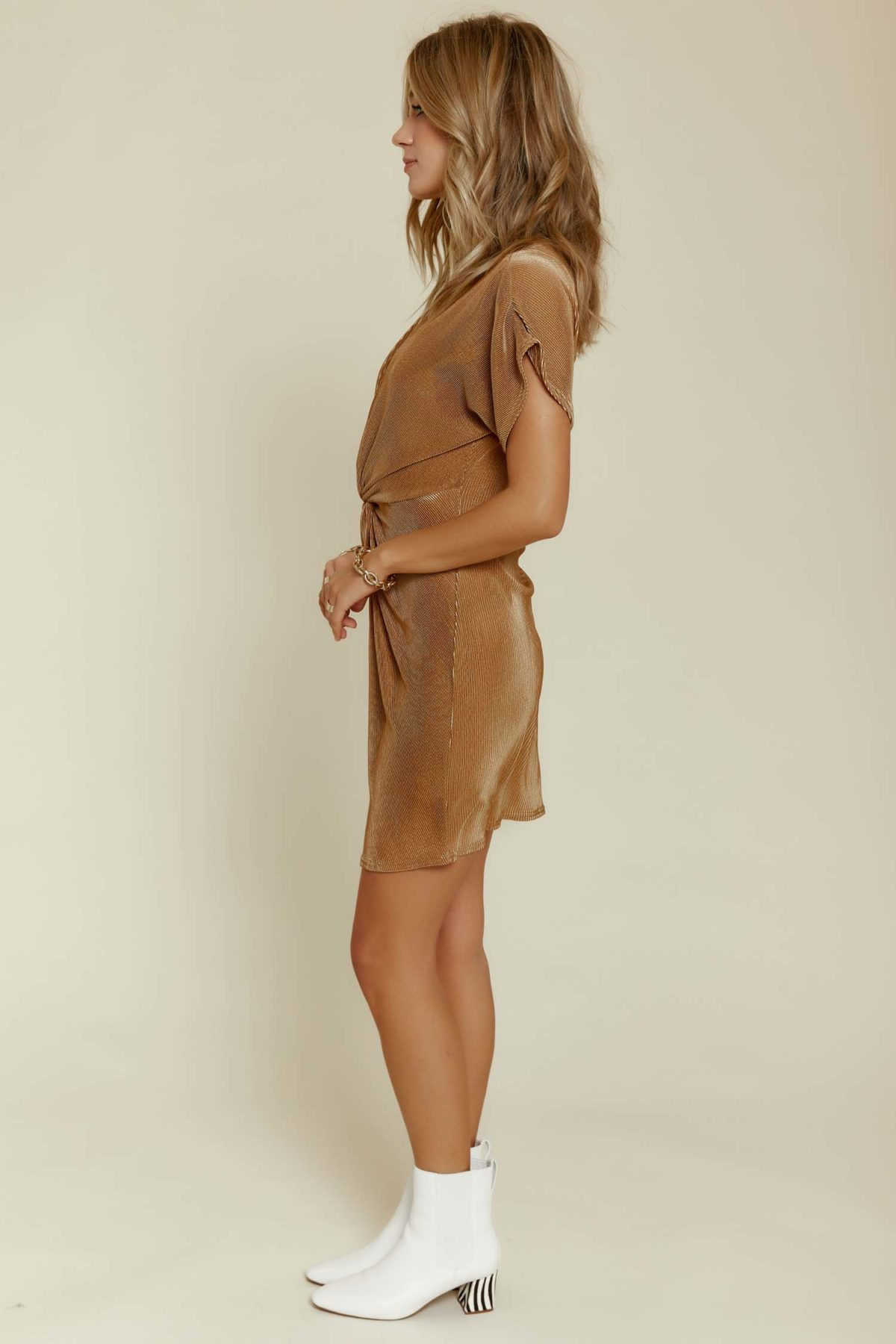 Sage the Label: Gia Dress in Gold