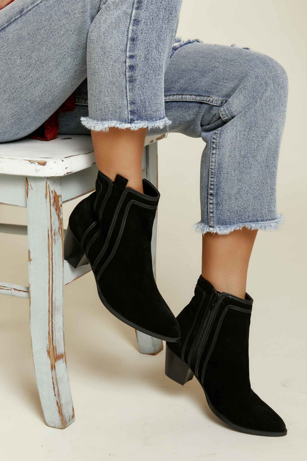 Matisse: Ford Bootie in Black