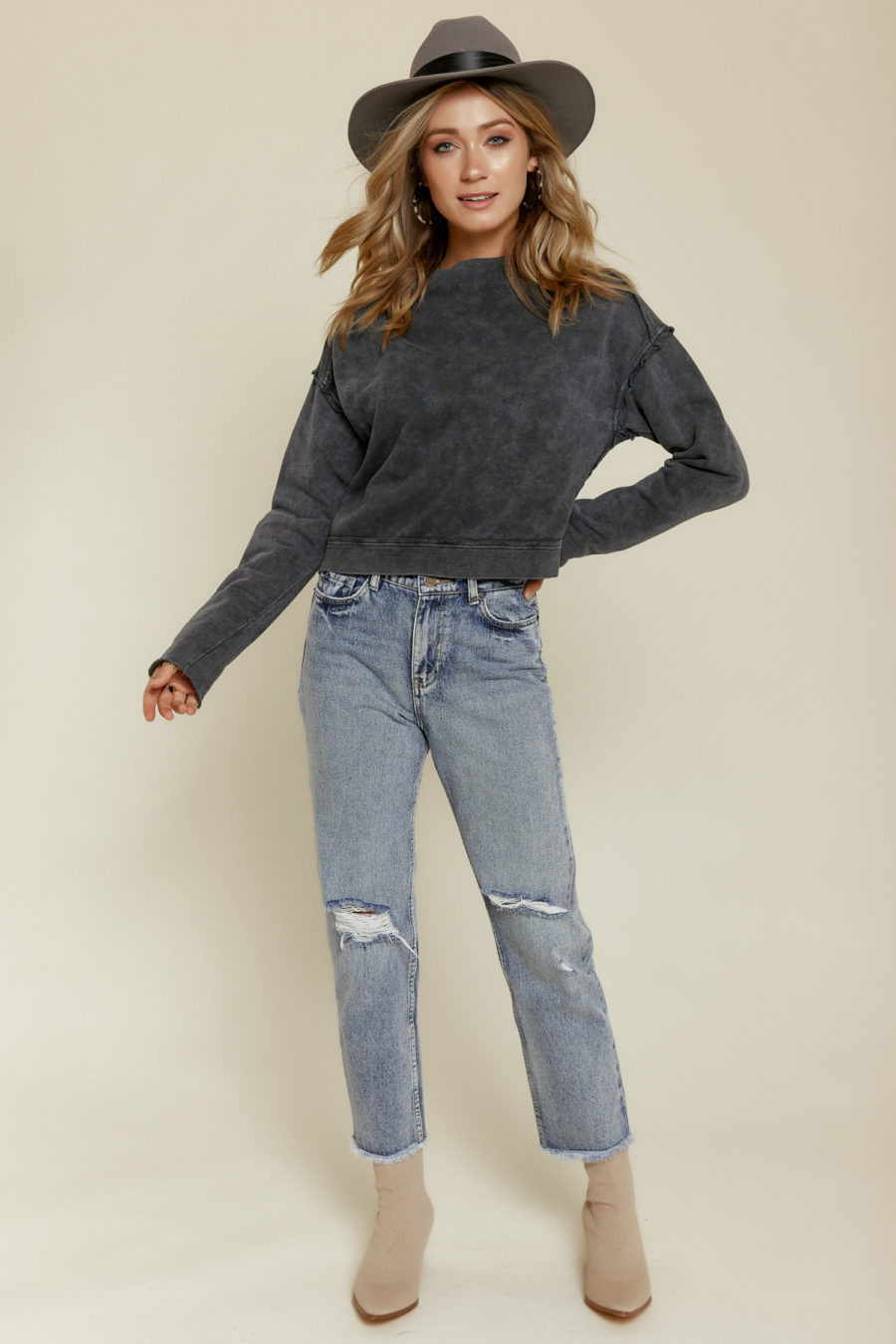 Free People: Oh Marley Pullover Sweater