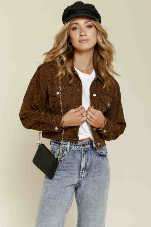 On the Prowl Jean Jacket