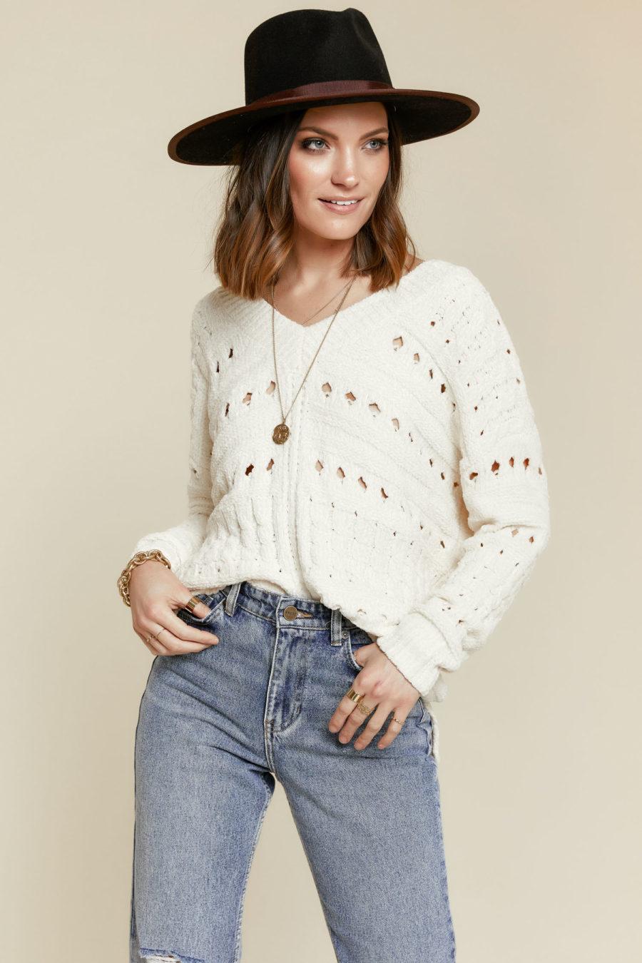 Lost in Chenille Sweater