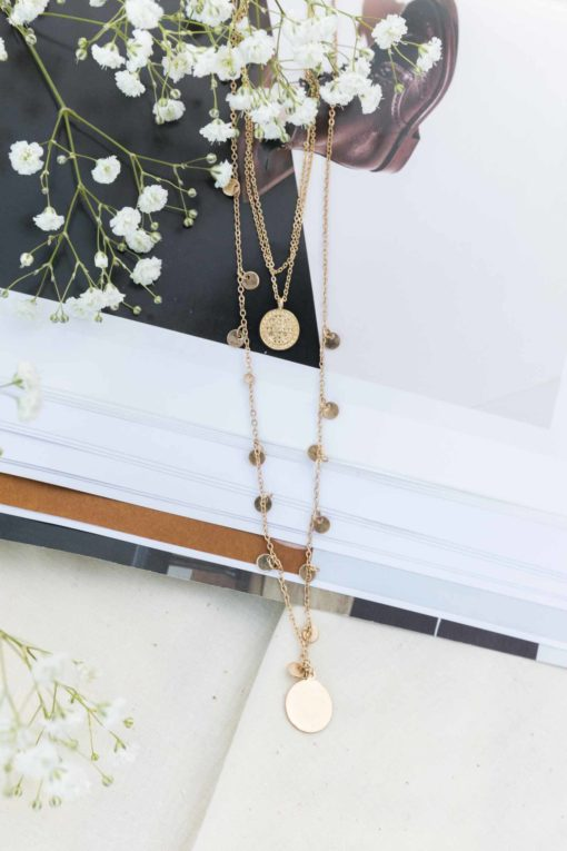 Layered in Gold Necklace