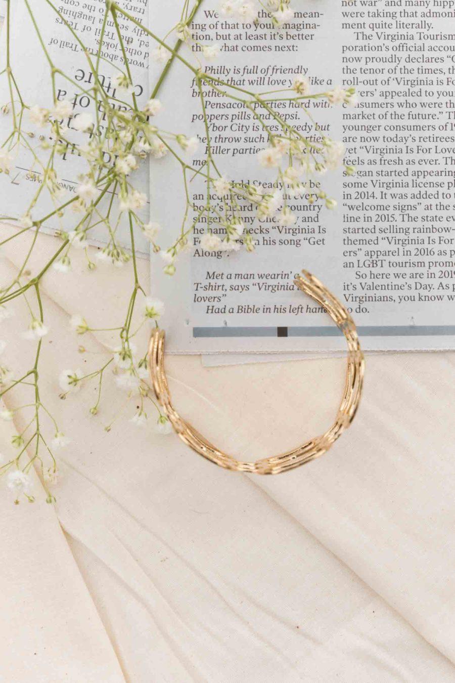 Gold Daydream Bangle Bracelet