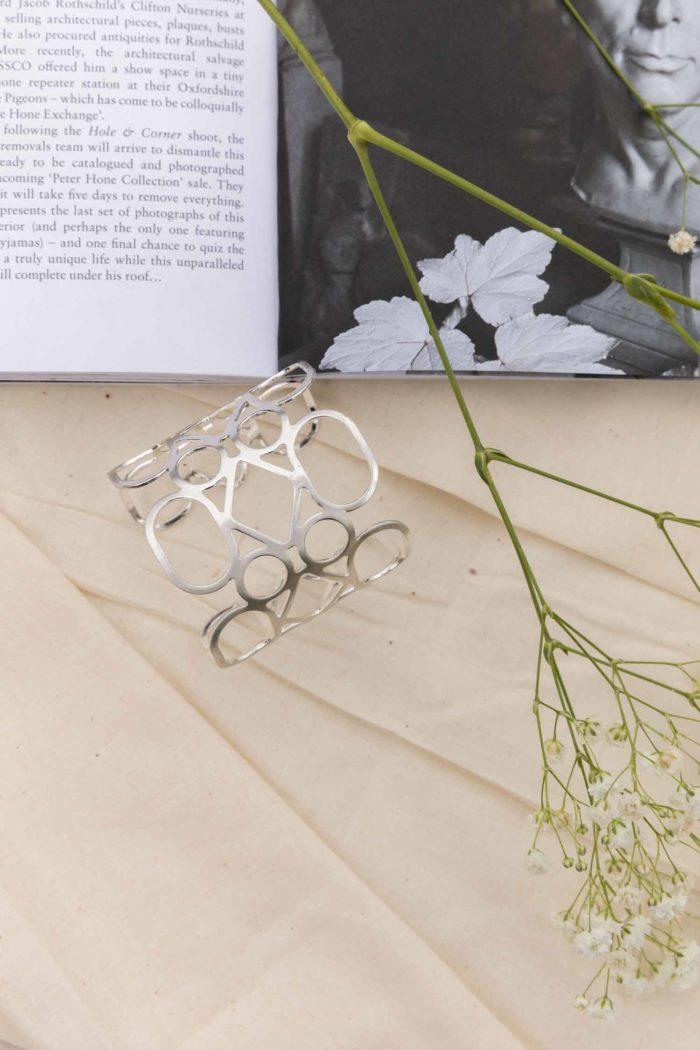 Silver Daydream Bangle Bracelet