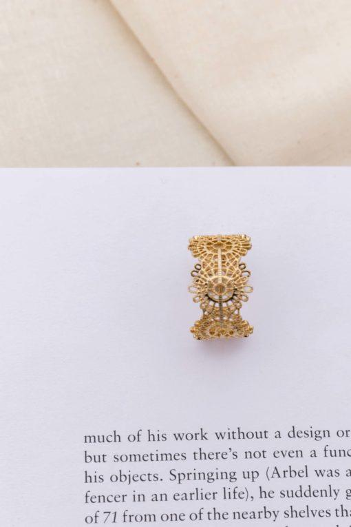 Gold in Toledo Ring