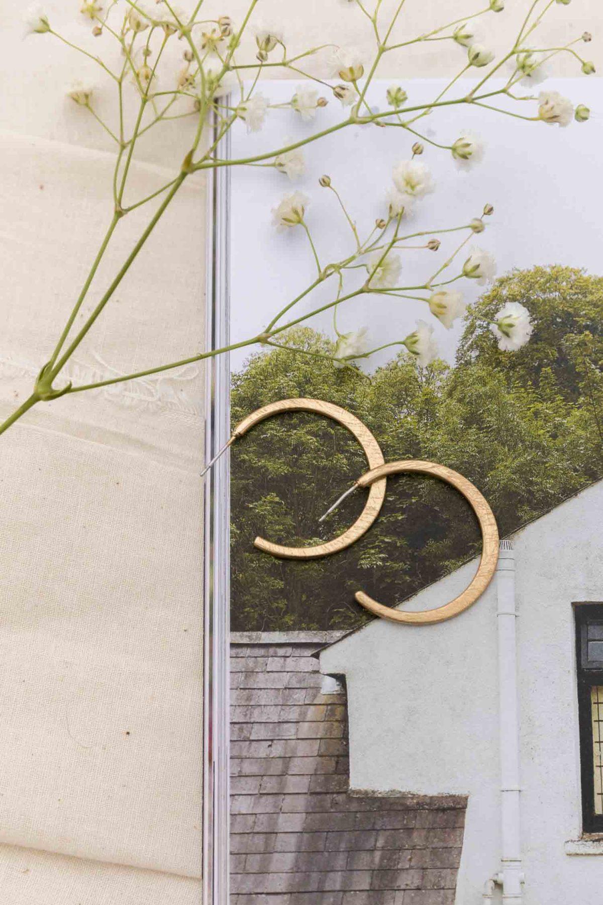 Montecito Sands Hoop Earrings