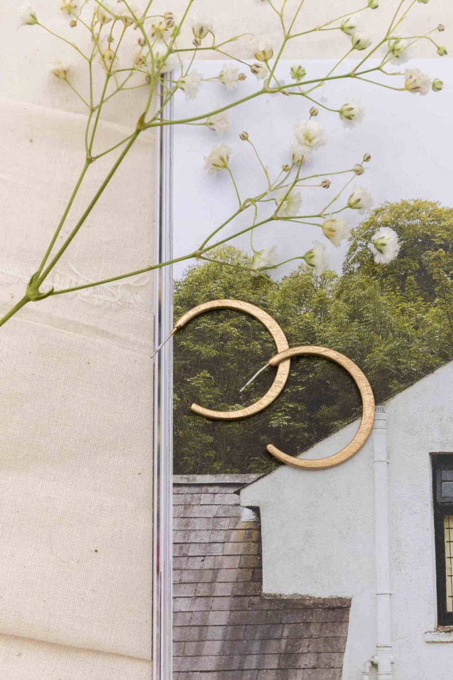 Montecito Sands Hoop Earrings
