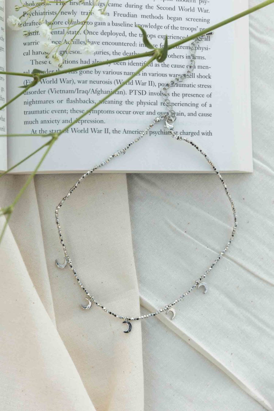 Coined with Crescent's Layered Necklace