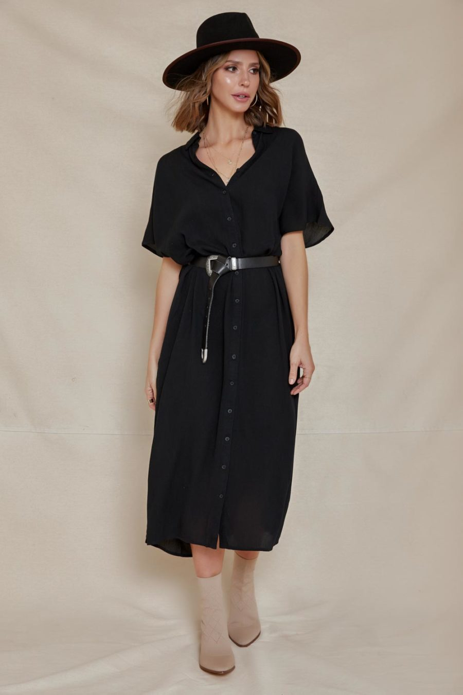Amuse Society: Tranquilo Woven Midi Dress