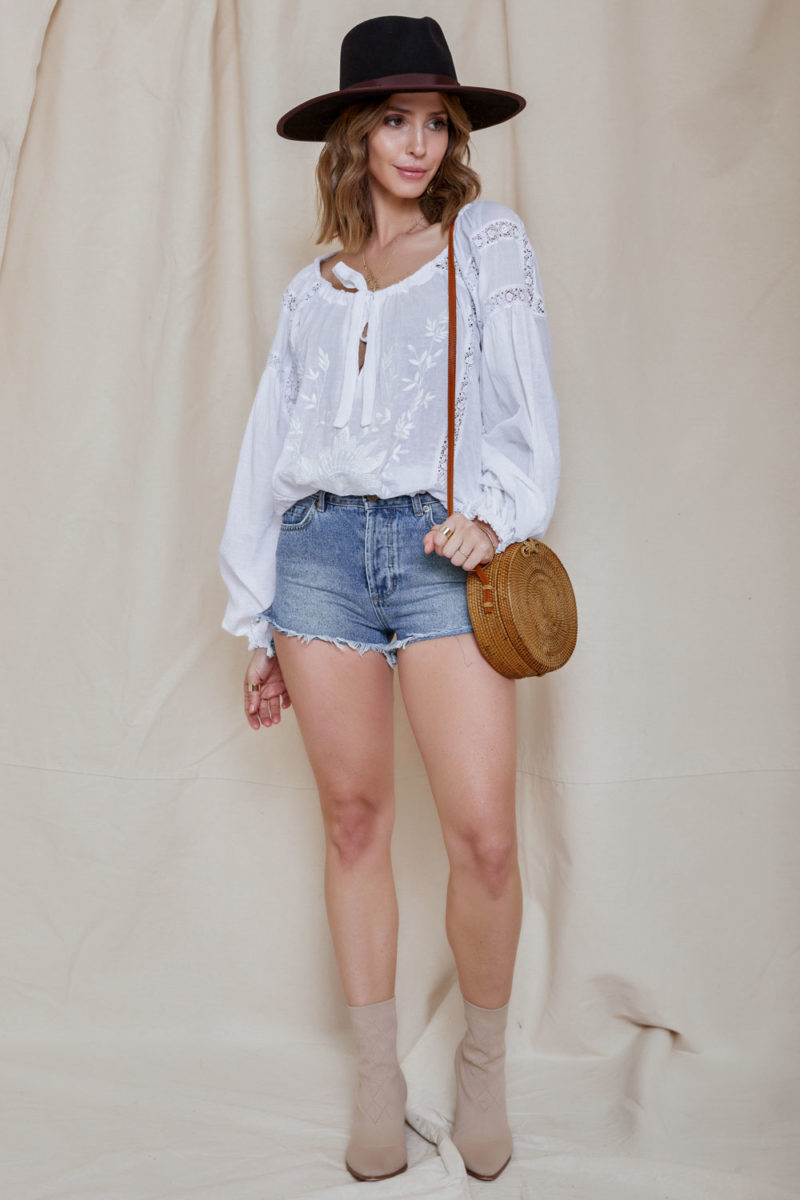 Free People: Maria Maria Lace Blouse