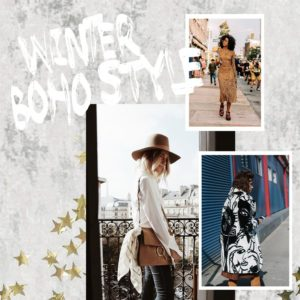 Winter Boho Styles all Year Long