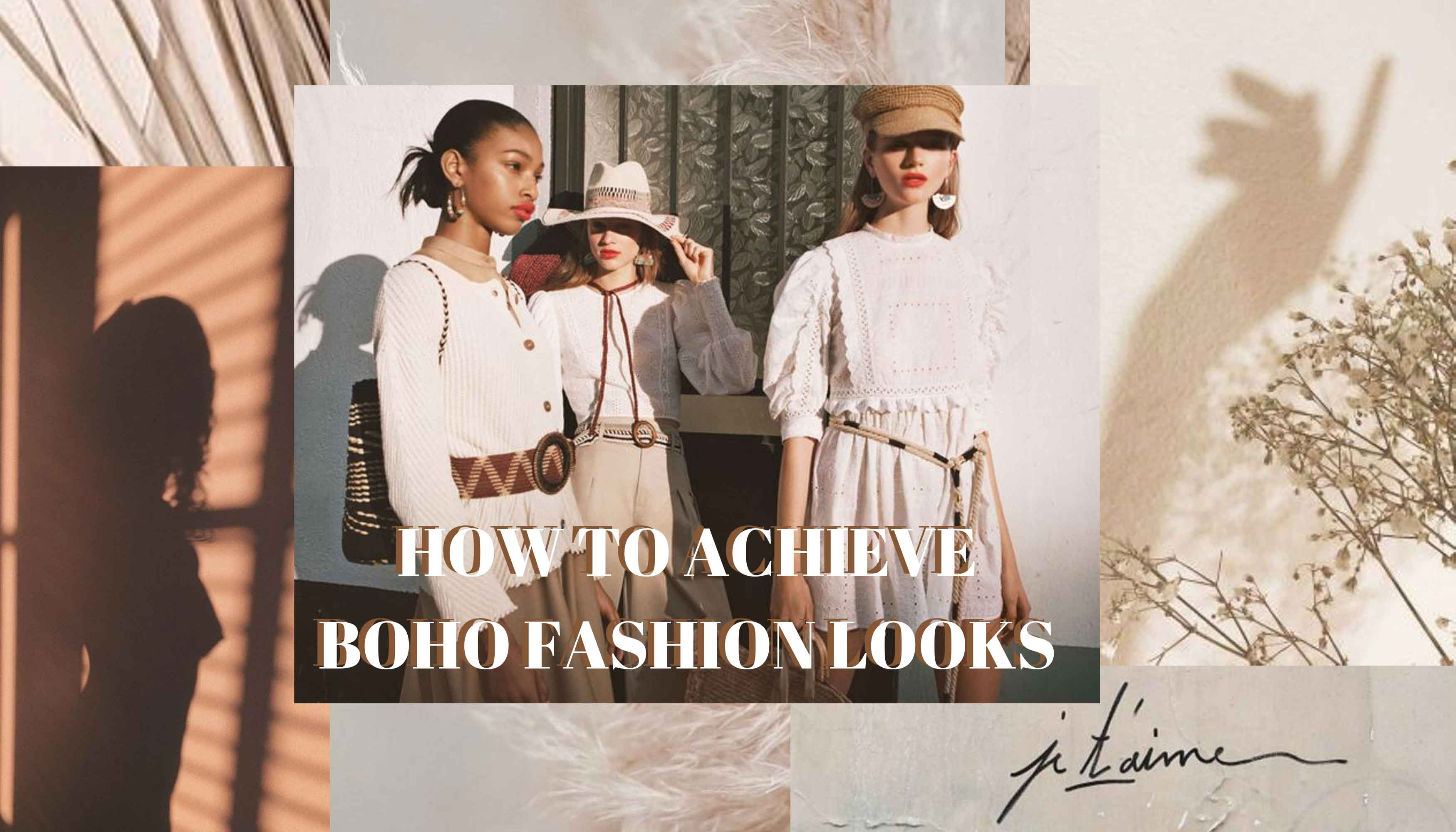 Tips to Achieve Boho Fashion Looks