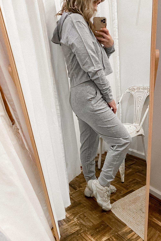 Loungin Around Set in Grey